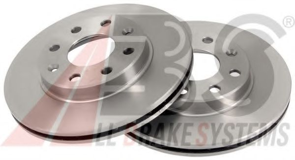 Диск гальмівний Chevrolet Aveo 236mm ABS 18166
