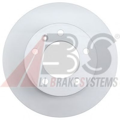 Brake disc pair ABS 181822