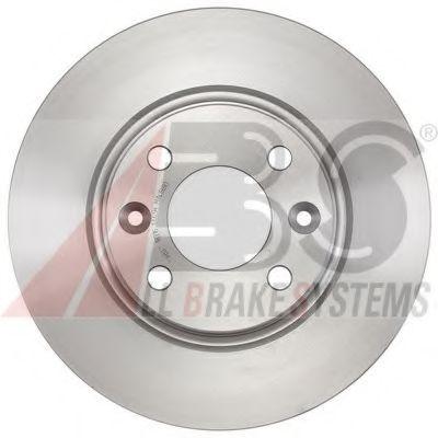 Диск тормозной DACIA LOGAN 1.2 1.5 2012-, SANDERO 2012-,RENAULT CLIO IV 2012- передн. (пр-во ABS)    ABS 18316