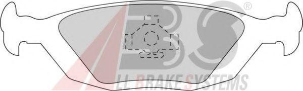 Комплект тормозных колодок, дисковый тормоз  арт. 364891