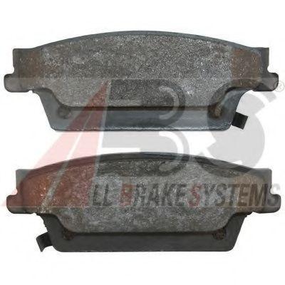 Комплект тормозных колодок, дисковый тормоз  арт. 37571