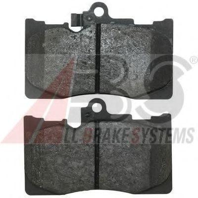 Гальмівні колодки перед. Lexus GS 05- ABS 37591