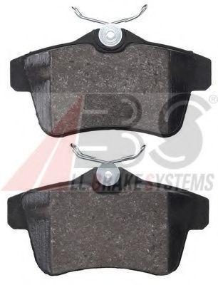 Гальмівні колодки диск.задні Citroen C4/DS4/DS5/Peugeot 308,3008,5008, RCZ 1.4HDi-2.0HDi 09-  ABS 37762