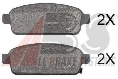 Комплект тормозных колодок, дисковый тормоз  арт. 37790