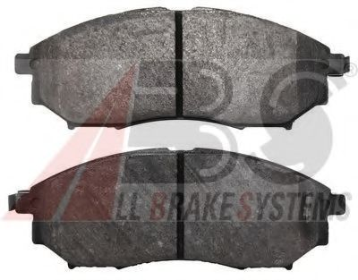 Комплект тормозных колодок, дисковый тормоз  арт. 37791