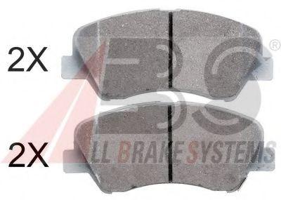 Гальмівні колодки диск.передні Hyundai i30, Kia Ceed,Rio III,Sorento II 1.1CRDi-2.4i 09-  ABS 37930
