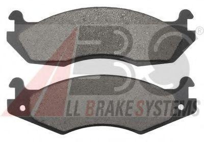 Комплект тормозных колодок, дисковый тормоз  арт. 38203