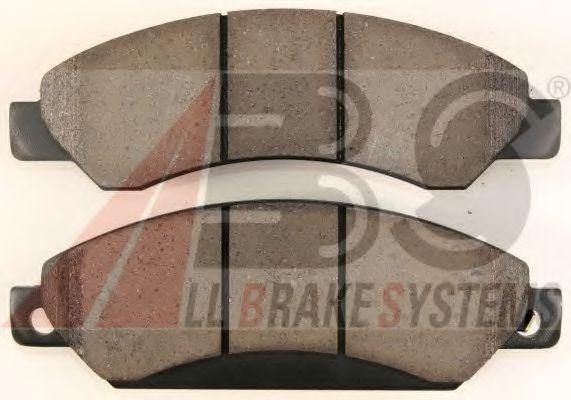 Комплект тормозных колодок, дисковый тормоз  арт. 38429