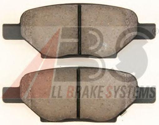 Комплект тормозных колодок, дисковый тормоз  арт. 38438