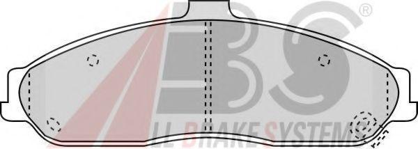 Комплект тормозных колодок, дисковый тормоз  арт. 38731