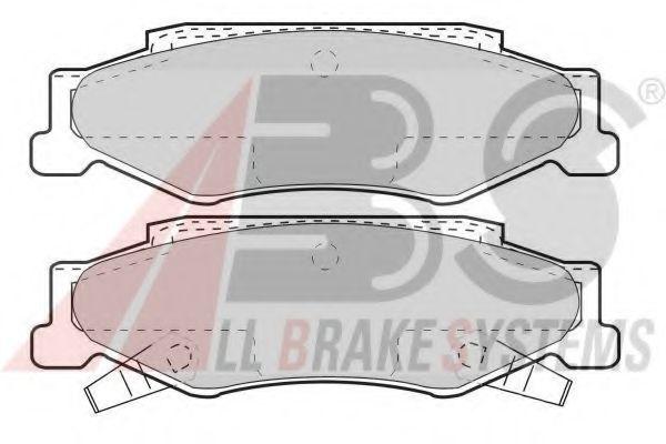 Комплект тормозных колодок, дисковый тормоз  арт. 38732
