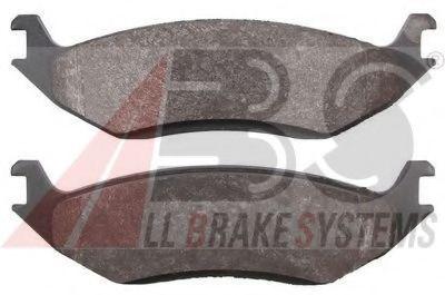 Комплект тормозных колодок, дисковый тормоз  арт. 38967