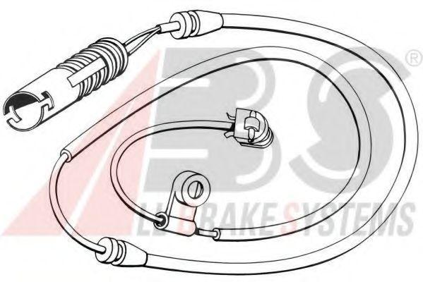 Сигнализатор, износ тормозных колодок  арт. 39584