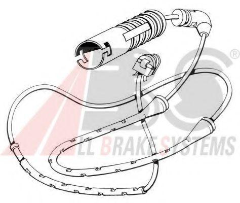 Сигнализатор, износ тормозных колодок  арт. 39585