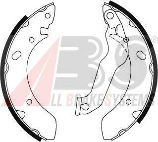 Барабанні гальмівні колодки Hyundai Lantra 95- ABS 8899