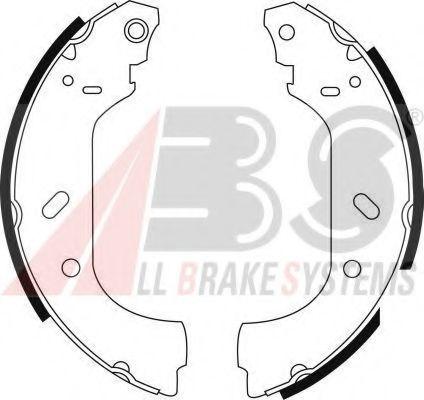 Гальмівні колодки барабанні Fiat Scudo/Peugeot Expert всі обєми 95- ABS 8943