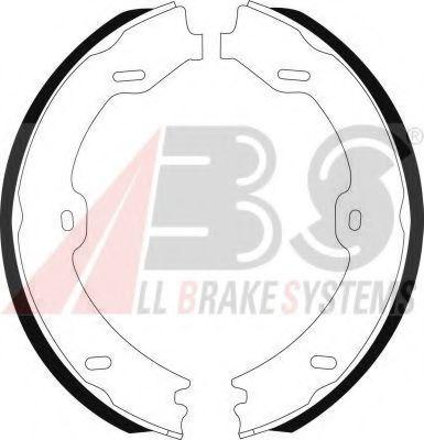 Гальмівні колодки барабанні зад. MB CLS (C219), E (W211, S211), SL (R230) 3.0-6.0 10.01-11.11 ABS 9141