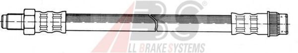 Brake hose front ABS SL3617