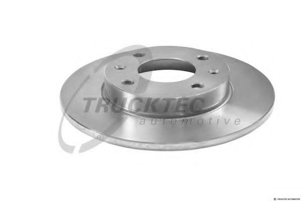 Тормозной диск Тормозной диск TRUCKTECAUTOMOTIVE арт. 1135008