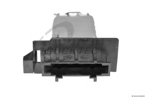 Сопротивление вентилятора салона Реостат печки MB Sprinter CDI/VW LT 96-06/VW Caddy 03- (4 контакта) TRUCKTECAUTOMOTIVE арт. 0259114