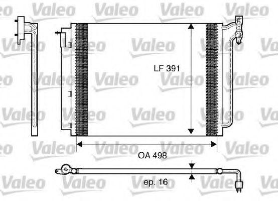 Радіатор кондиціонера VALEO 817575