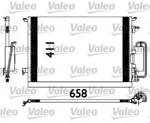 Радіатор кондиціонера VALEO 817647