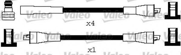 Комплекты проводов Высоковольтные провода, комплект VALEO арт. 346634