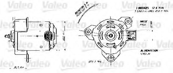 Мотор вентилятора системы охлаждения в интернет магазине www.partlider.com
