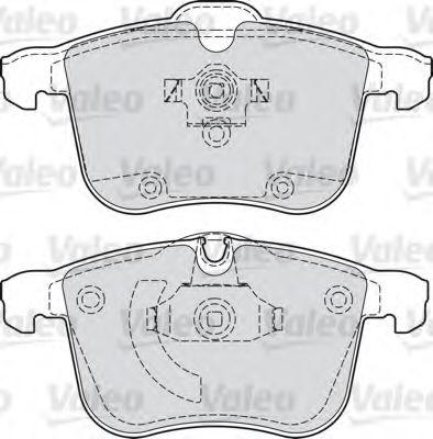 Тормозные колодки Колодки тормозные дисковые передние  LPR арт. 598808
