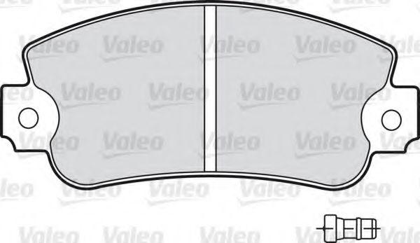 Гальмівні(тормозні) колодки  арт. 598160