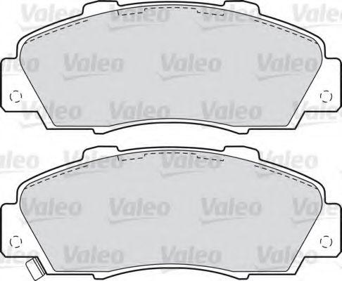 Комплект тормозных колодок, дисковый тормоз  арт. 598627