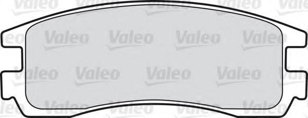 Комплект тормозных колодок, дисковый тормоз  арт. 598459
