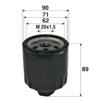 Масляный фильтр  арт. 586004