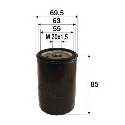 Масляный фильтр  арт. 586021