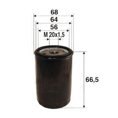 Масляный фильтр  арт. 586022
