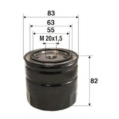 Масляный фильтр  арт. 586062