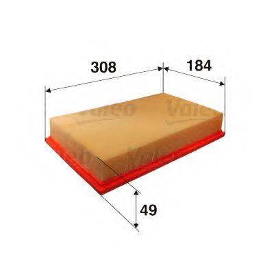 Воздушный фильтр  арт. 585360