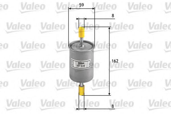 Топливный фильтр  арт. 587028