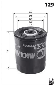 Фильтр топливный BOSCH арт. ELG5267