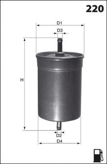 Топливный фильтр  арт. ELE3567