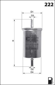 Топливный фильтр JAPANPARTS арт. ELE6006