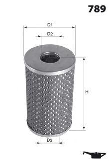 Фильтр гидроусилителя руля Гидрофильтр, рулевое управление MECAFILTER арт. ELH4199