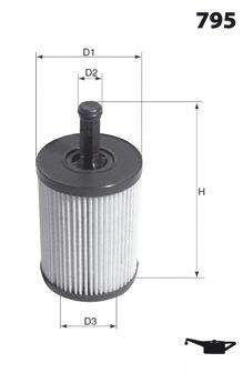 Масляный фильтр DENCKERMANN арт. ELH4305