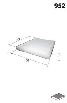 ELR7260 Фільтр салону ( аналогWP2046/LA447)  арт. ELR7260