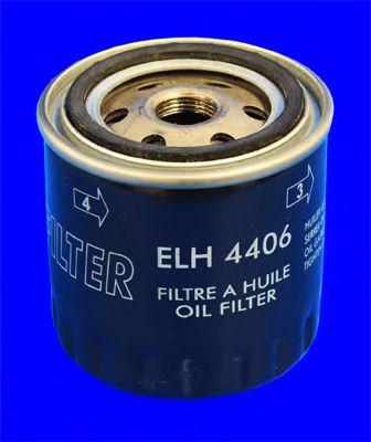 масляный фильтр R 1.5-3.0DCI LAG 07-/MEG 08-  арт. ELH4406