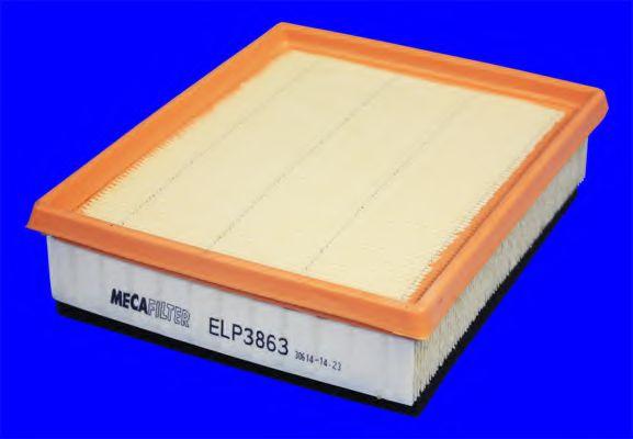 Воздушный фильтр  арт. ELP3863
