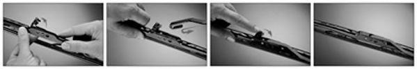 Щетка стеклоочистит. 280 стекла заднего FORD FOCUS, FUSION TRICOFIT (пр-во Trico)                     арт. EX281