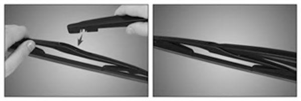 Щетка стеклоочистит. 350 стекла заднего DACIA LOGAN MCV TRICOFIT (пр-во Trico)                        арт. EX353