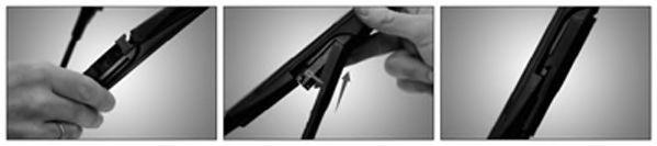 Щетка стеклоочистит. 400 NISSAN QASHQAI (спец. крепл.) NEOFORM (пр-во Trico)                          арт. NF407
