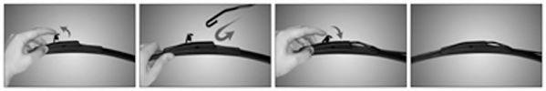 Щетка стеклоочистит. 550 NEOFORM (пр-во Trico)                                                        арт. NF550